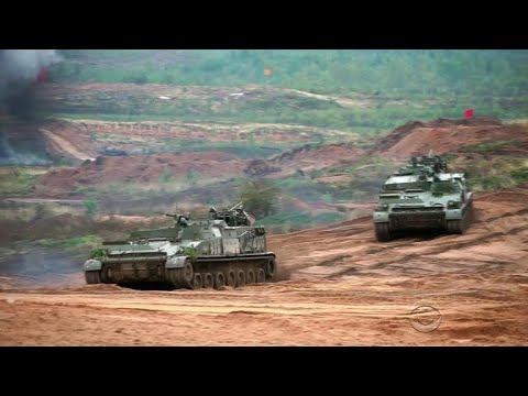 Russia military exercise sends message to the world