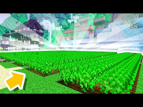 OUR MINECRAFT FARM IS BIG NOW!!! [#19]