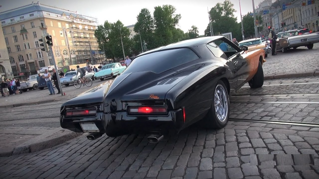 BATMOBILE?! 1972 Buick Riviera 455 / 7.5L - startup, V8 ...