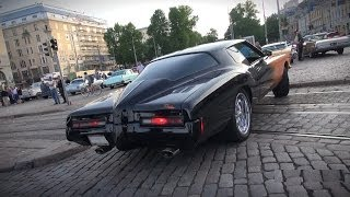 BATMOBILE?! 1972 Buick Riviera 455 / 7.5L - startup, V8 sound, overview