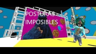IMPOSSIBLE POSITIONS//HOLE IN THE WALL//ROBLOX
