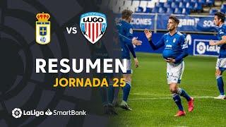 Resumen de Real Oviedo vs CD Lugo (3-1)