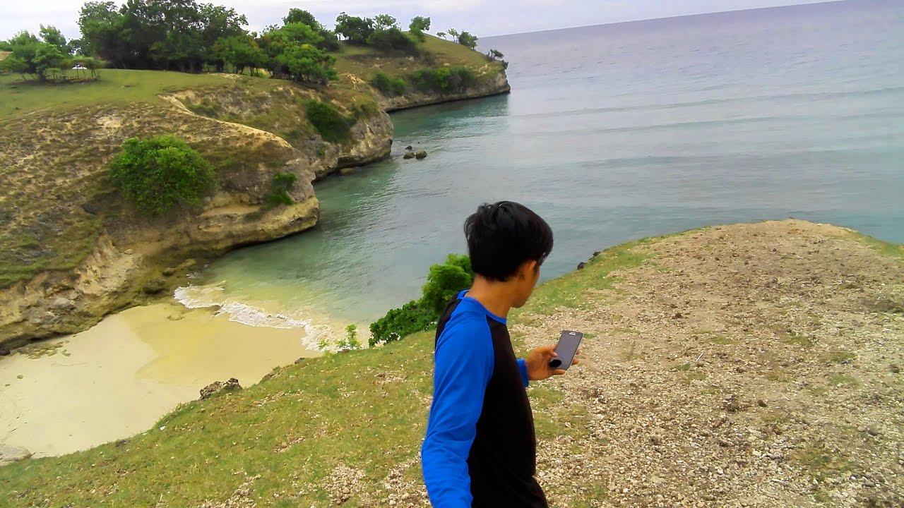 Wisata aceh, Pantai tebing, lamreh - YouTube