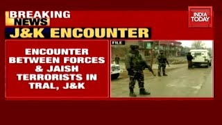 Encounter Breaks Out in Jammu and Kashmir's Tral, Top Jaish Commander Trapped