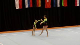 Sachsenpokal 2016   011   043   Women's Pair   Age Group   Balance   GER   SC Hoyerswerda GER, Angel