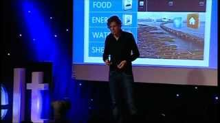 A blueprint for city improvement: Koen Olthuis at TEDxUHasselt