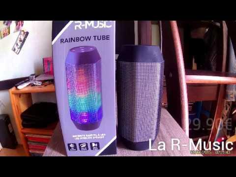 Présentation : Enceinte R-Music Raimbow tube