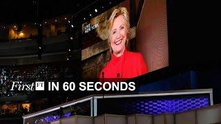 Clinton becomes Democratic nominee, France terror attack | FirstFT
