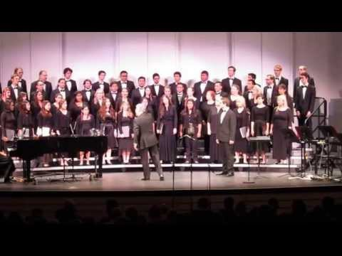Orange Coast College , Mario Arias singing in german with the Choral. 2015