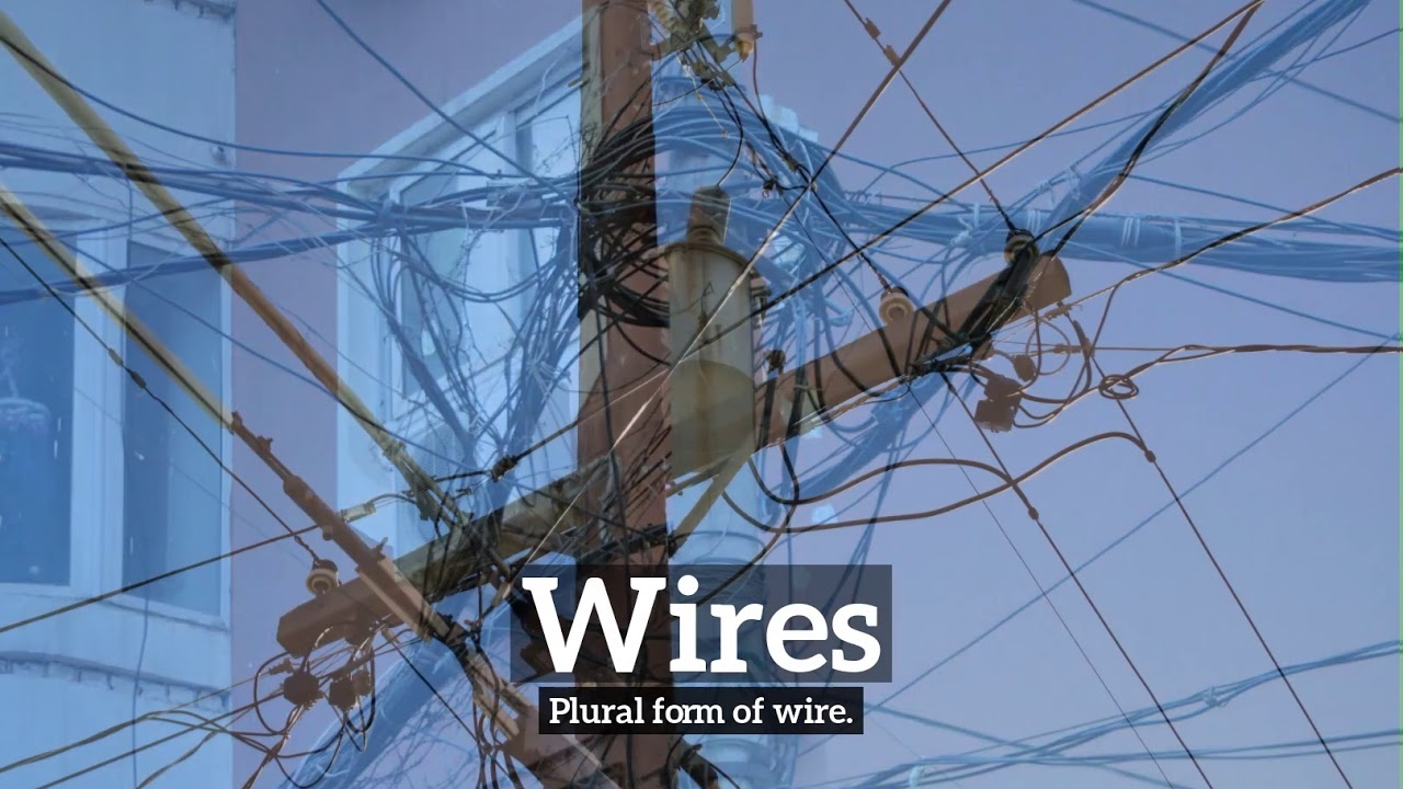 What are Wires?   How Do Wires Look?   How to Say Wires in English ...