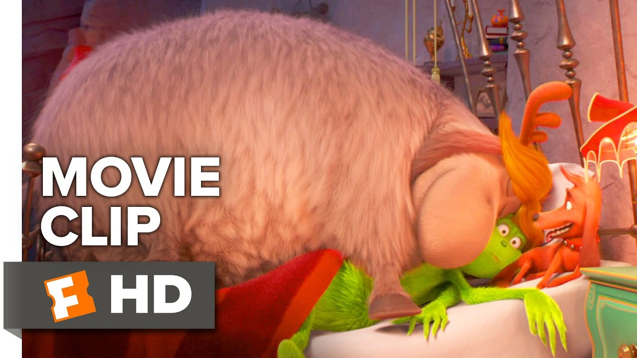 the grinch movie clip fred and max jump in bed 2018 movieclips
