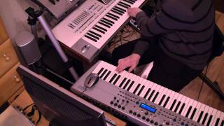 Safri Duo - Played Alive Cover PA2x Novation KS5