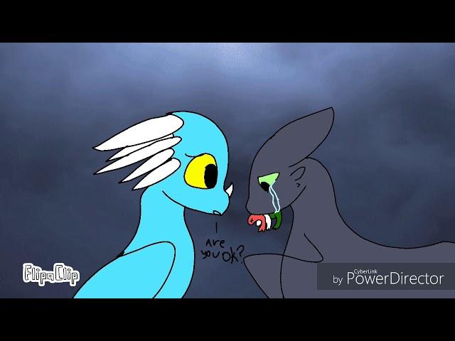 Toothless x light fury#3