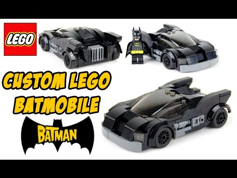 custom lego the batman batmobile review youtube. Black Bedroom Furniture Sets. Home Design Ideas