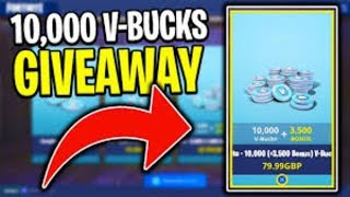 10,000 VBUCK GIVEAWAY LAST CHANCE TO JOIN (TDD CLAN) FORTNITE BR LIVESTREAM