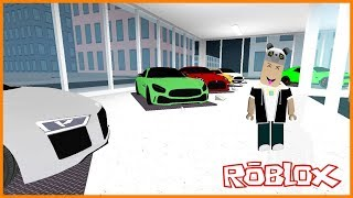 We Set up an Ultra Luxury Car Store - Roblox Car Dealership Tycoon