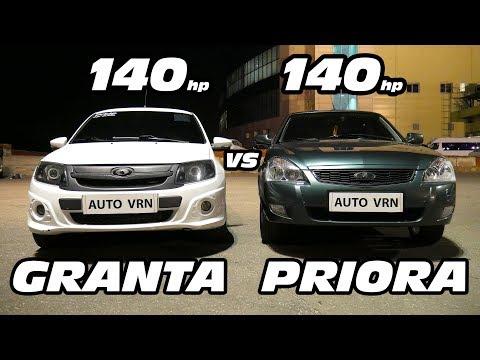 GRANTA SPORT vs LADA PRIORA 2. ГОНКА!!!