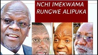 Ghafla tumepokea habari hii Nzito, Kuhusu Magufuli na Vyama vya Siasa, nchi imekwama, Rungwe Alipuka