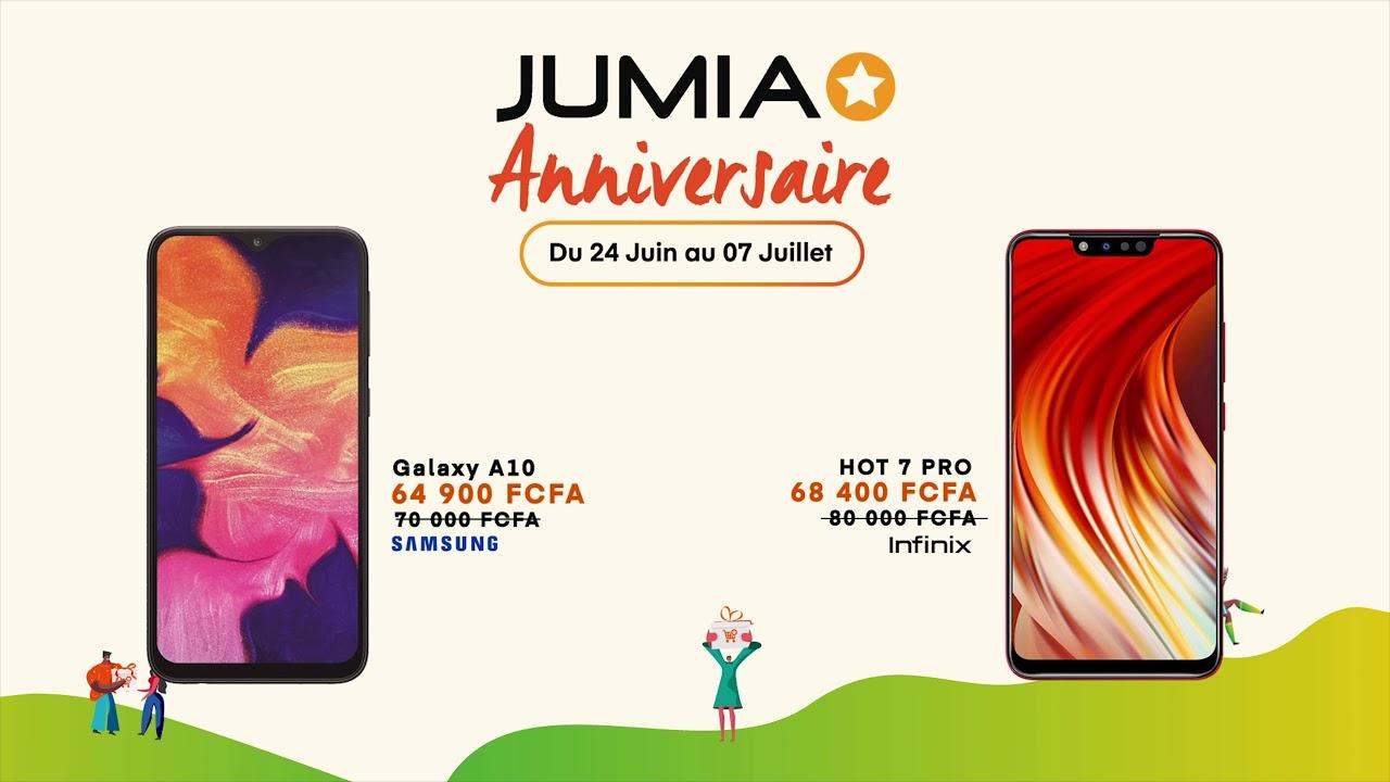 Jumia Anniversaire 24 Juin 07 Juillet 2019
