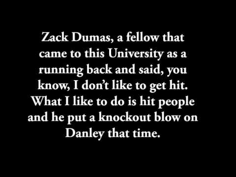 Biggest Football Hit of All Time Zack Dumas with script