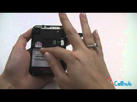 Motorola Charm How to Install Sim card and Battery
