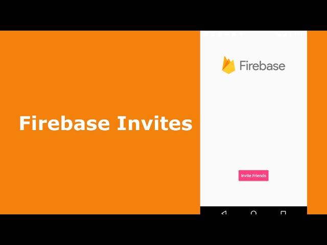 Google Firebase App Invites(Android)