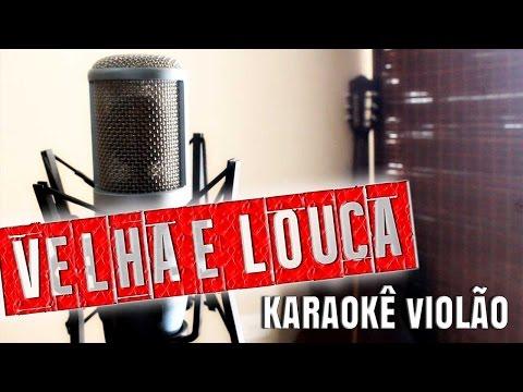 Velha e Louca - Mallu Magalhães - Karaokê com Violão thumbnail