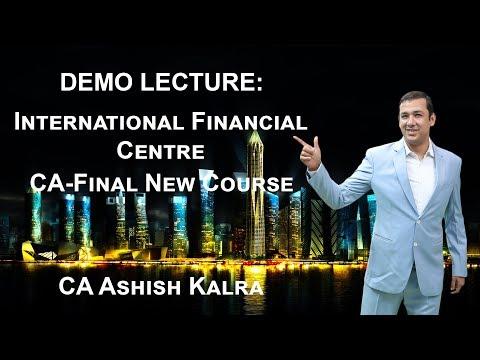 Demo: New Course CA-Final SFM – International Financial Centre (IFC) | CA Ashish Kalra