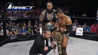 EC3 Tries To Make Jeff Hardy Apologize, Hardy Does Something Else Instead (Sep. 23, 2015)