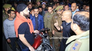 Traffic IGP Basant Rath at GMC Jammu to clear illegally parked vehicles | UNT