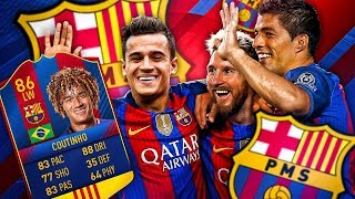 Introducing pms! phil messi suarez! the barcelona coutinho transfer squad! fifa 17