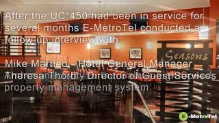 Testimonial - Interview with Sheraton Imperial on E-MetroTel's Nortel Migration to UCx