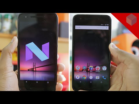 ANDROID N in SLOW MOTION!