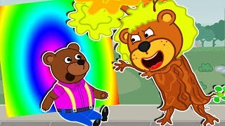 Lion Family Official Channel 🎋 Magic Dream in the House Loft | Cartoon for Kids | Episode 11