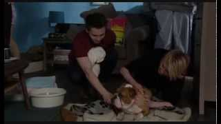 Eastenders - Lady Di gives birth in The Vic [22nd April 2014]