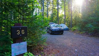 Moose Brooke State Park, Nęw Hampshire Campsite Quick Review By GReviewz