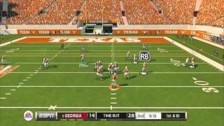NCAA 14 - GAME OF THE YEAR! | Ranked Match | Georgia QB Aaron Murray can do it ALL lol