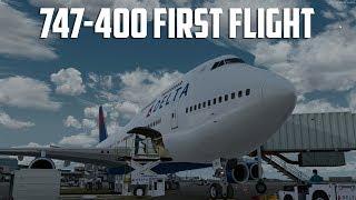 747-400 First Flight (Prepar3d V4)