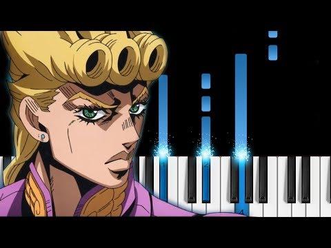 Traitor's Requiem - JoJo's Bizarre Adventure: Golden Wind OP2 - EASY Piano Tutorial