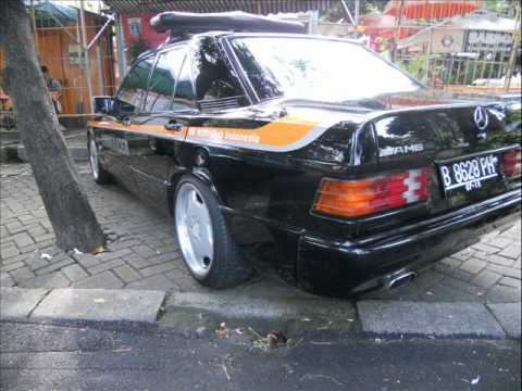 Mercedes Benz W201-190E 1st Photo Session Indonesia (Fixed)