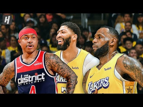 Washington Wizards vs Los Angeles Lakers - Full Game Highlights | November 29 | 2019-20 NBA Season