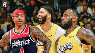 Washington Wizards vs Los Angeles Lakers - Full Game Highlights | November 29 | 2019-20 NBA Season