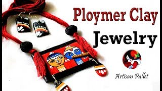 How to make Handmade Jewellery with Air Dry Polymer Clay | Terracotta Jewelry Making Tutorials