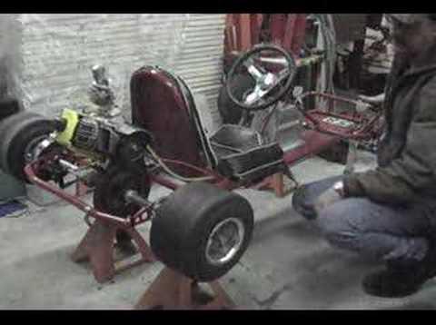 VINTAGE McCULLOCH MAC 5 GOKART ENGINE - YouTube