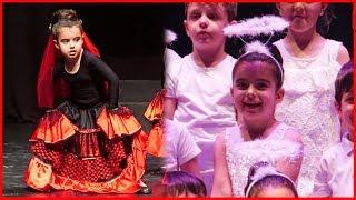 Prenses Rüya'nın Anaokulu Yıl Sonu Gösterisi, Rüya Balerin Oldu, Dans Etti | Çocuk Videosu