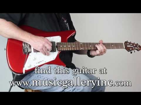 Music Man Albert Lee HH Signature Candy Red | The Music Gallery