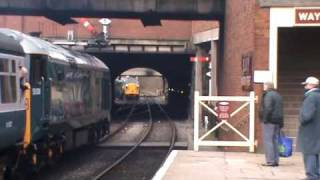 50008 Breaks Down and starts Its Engine on the Move