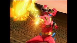 Power Rangers Dino Thunder - Power Rangers vs Fridgia   Episode 34