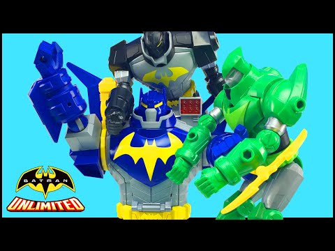 Batman Unlimited Mechs vs Mutants Ultimate Bat-Mech Battles Bat-Bot & Green Arrow Mech Superheroes