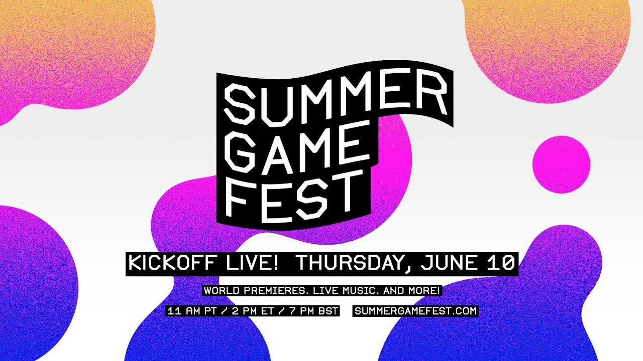 Summer Game Fest: Kickoff Live on June 10! - YouTube